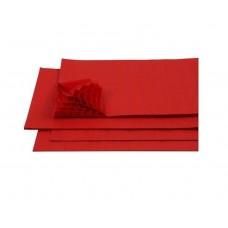 B06-125 Korėtas popierius 33x40cm raudonas 026667/450-20 FOLIA D