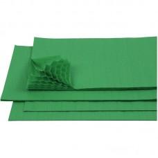 B06-126 Korėtas popierius Luna 33x40cm žalias 026671 DIAKAKIS