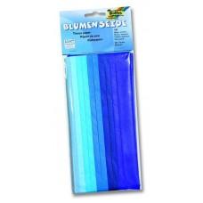 B06-133 Šilkinis popierius 50x70cm 20g/m 10l mėlynas 91093 FOLIA