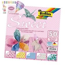 B06-710 Origami SWEET 20x20cm 80g/m 50vnt 491/2020 FOLIA