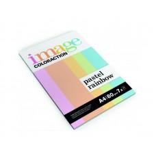 B07-069 Spalvoto popieriaus rinkinys A4 80g/m² pastelinių spalv