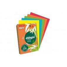 B07-131 Spalvoto popieriaus rinkinys REY ADAGIO INTENSO A4 80g/m