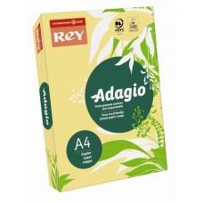 B07-500 Spalvotas popierius REY ADAGIO A4 80g/m 500l rusvai gelt