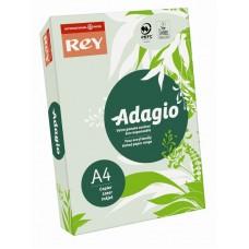 B07-507 Spalvotas popierius REY ADAGIO A4 80g/m 500l žalsva/09