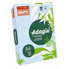 B07-510 Spalvotas popierius REY ADAGIO A4 80g/m 500l melsva/01