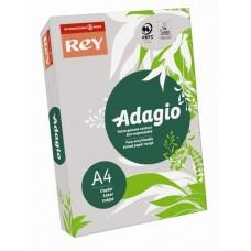 B07-511 Spalvotas popierius REY ADAGIO A4 80g/m 500l pilka/06