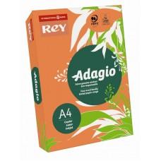 B07-516 Spalvotas popierius REY ADAGIO A4 80g/m 500l oranžinė/21