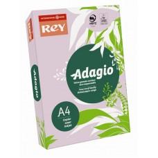 B07-527 Spalvotas popierius REY ADAGIO A4 80g/m 500l alyvinė/28