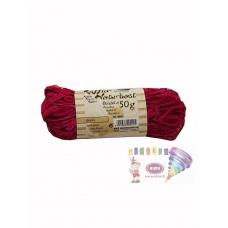 B08-954 Natūrali rafija 50g purpurinė 9021 FOLIA/10