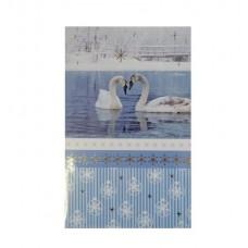 B09-912 Dvigubas KALĖDINIS atvirukas 11404092 SUSY CARD