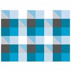 """B10-098 Popierius dovanų pakavimui """"Blue Squares"""" 11247327"""