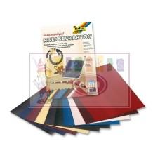 Kartonas SNAKE SKIN 23x33cm 230g/m² 10l 5012309 FOLIA B06-1971