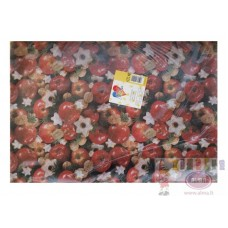 B10-372 Popierius dovanų pakavimui 50x70cm 25 lapai SUSY CARD