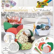 B10-700 Išlankstomi dovanų krepšeliai KALĖDOS 9vnt 965 FOLIA/5