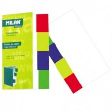 B11-064 Indeksai 45x12mm 5sp. plastikiniai 87000 MILAN