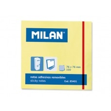 B11-0581 Lapeliai lipnūs 75x75mm geltoni 85401 MILAN