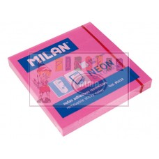 B11-0582 Lapeliai lipnūs 75x75mm 100l rožiniai 85432 MILAN