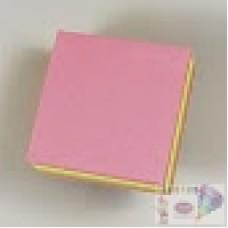 B11-063 Lapelių lipnių kubas 75x75mm neon 320l 00790774 HERLITZ