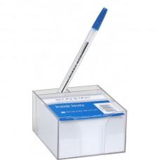 B11-162 Lapeliai balti 5cm skaidrioje dėžutėje, 8,5x8,5cm, 154141 STARPAK
