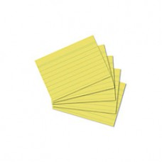 B11-308 Lapeliai kartotekai A8 100vnt linija gelt. 10836328 HERL