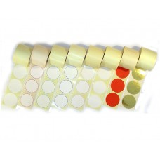 B12-105 Antspaudo lipdukai raudonu krasteliu (500 vnt)