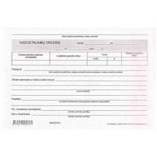 B15-6431 Kasos pajamų orderis A5 SC 1knygutė 75-03