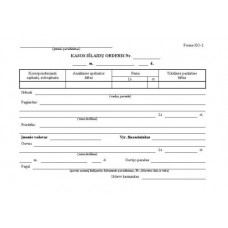 B15-007 Kasos išlaidų orderiai A5 100vnt 226