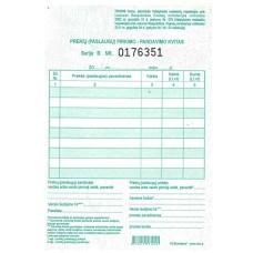 B15-165 Prekių (paslaugų) pirk-pard kvitas A6 1 knygutė 75-001