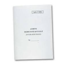 B15-228 Asmens medicininė knygelė