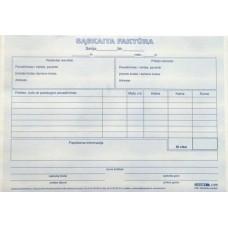 B15-529 Sąskaita faktūra A5 100 vnt. 1 knygutė 175-02
