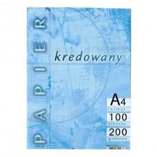 600076 KRESKA Popierius A4 200g/m 100l baltas B17-283