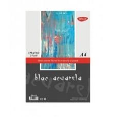 Akvarelinis popierius A4 190g 24l, BD419 DACO, B04-062