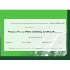 B15-813 EKA kasos operacijų žurnalas horizontalus A4/73l