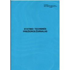 B15-824 Statinio techninės priežiūros žurnalas 2 priedas
