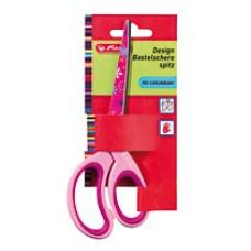 C06-051 Žirklės dekoruotos kairiarankiams 10897171 HERLITZ,