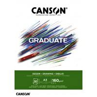 Piešimo albumas A3 30l 160g/m C400110366 CANSON, B04-163