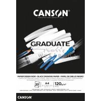 Popierius A4 120g 20l. juodas C400110386 CANSON, B04-774