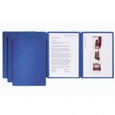 D01-0350 Prezentacinis aplankas su slankikliu mėlynas 2200302 DU