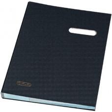 D01-998 Aplankas parašams A4 20 skyrių juodas 10839728 HERLITZ