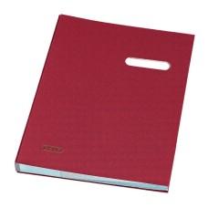 D01-999 Aplankas parašams A4 20 skyrių raudonas 10839736 HERLITZ