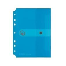D04-2442 Aplankas-vokas A5 EASY su perf mėlynas 11293826 HERLITZ6/60