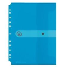 D04-245 Aplankas-vokas A4 EASY su perf mėlynas 11292943