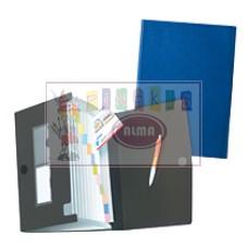D04-700 Aplankas su 12 skyrių įv.spalvų 01978048 HERLITZ