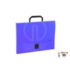 D05-089 Portfelis A4 su rankena violetinis E31607-12 PAPIRUS