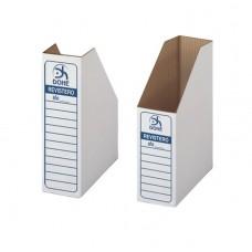 D06-103 Kartoninis stovas dokumentams A4 baltas 09052 DOHE