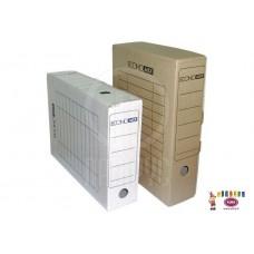 D06-207 Archyvinė dėžė 100mm ruda E32704-07