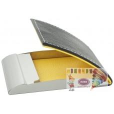 D07-1542 Metalinis kortelių dėklas garstyčių-pilkas 52904408 JAG