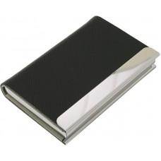 D07-158 Kortelių dėklas metalinis juodas-pilkas 72205901 JAGUAR