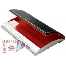 D07-1591 Metalinis kortelių dėklas raudonas-pilkas 74404411 JAGU