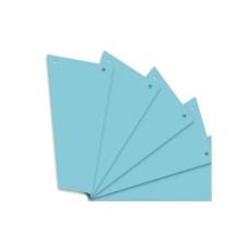 D08-0116 Skirtukai, trapeciniai 120x230mm 100vnt mėlyni 10836526 HERLITZ
